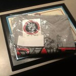 The Fall 2014 Induction Kit which included the certificate, optional frame, t-shirt, decal, and pin.